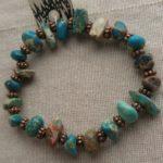 Bracelets One type of stone 001