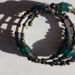 Bracelets Wrap mixed beads 04