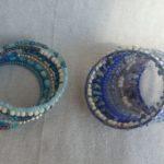 Bracelets Wrap mixed beads 07