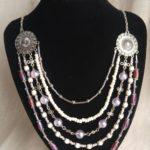 Necklace Regal Multi-rows 03