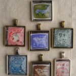Pendants Stamps Irish 001