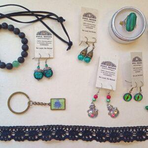 Green Mix Jewelry Bento Box