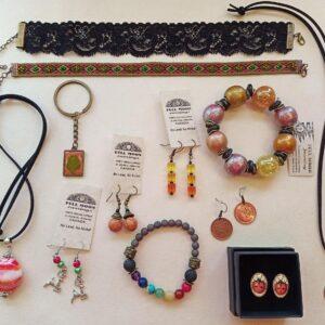Orange Mix Jewelry Bento Box