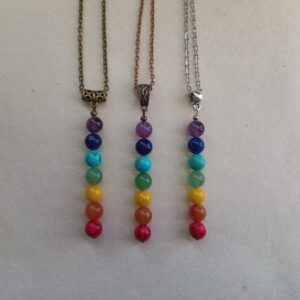 7 Chakras Rainbow Pendants
