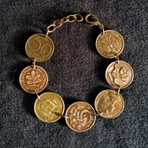 European Coins Bracelet 1
