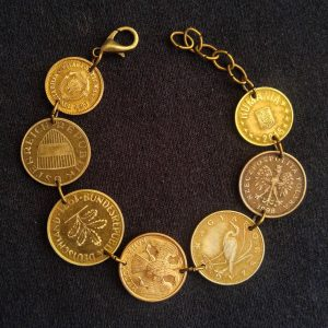 European coin bracelet (Slavic twist)