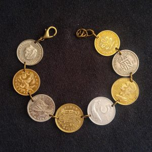European coin bracelet 2 (large)